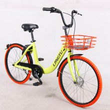 Langtu sharing bike public rental bike 24inch bicycle cheap OEM excludes lock