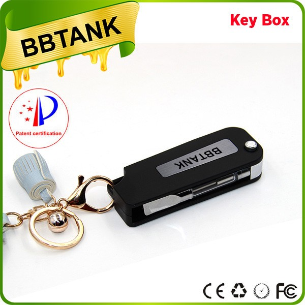 BBtank Vapwholesale Rta E Pen Battery Cigarette Tank 808D-1 Cartomizer 510 thread key box battery