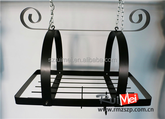 Novelty Multi-functional Kitchen cooking Hanging Rack Pot Stand