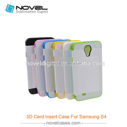 New Style - Card Insert 3d cell phone case for mobile phone accessory
