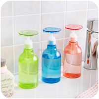 NEW DESIGN 300ml flower shaped PET spray bottle press water mist perfume atomizer spray bottle refillable