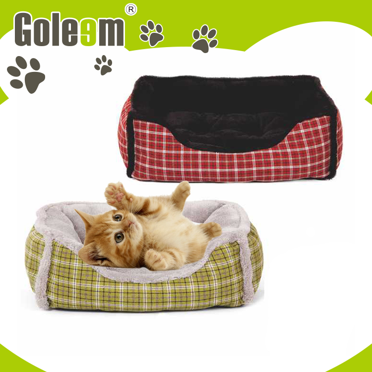 factory directly warm plush rectangle dog beds