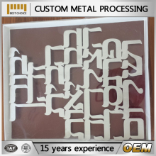 Aluminum 5052 laser cutting sheet metal processing manufacturer