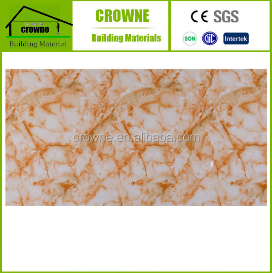 1220mm, 1-5mm PVC Marble Sheet for indoors decoration High glossy fireproof 4x8 marble pvc sheet/plastic pvc sheet