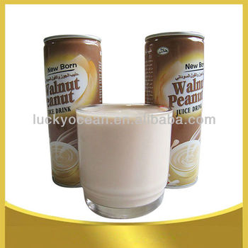 delicacy walnut beverage in can
