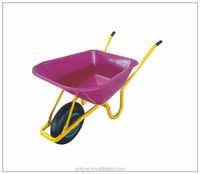 Construction and building WB6414 wheelbarrow for Europ Market