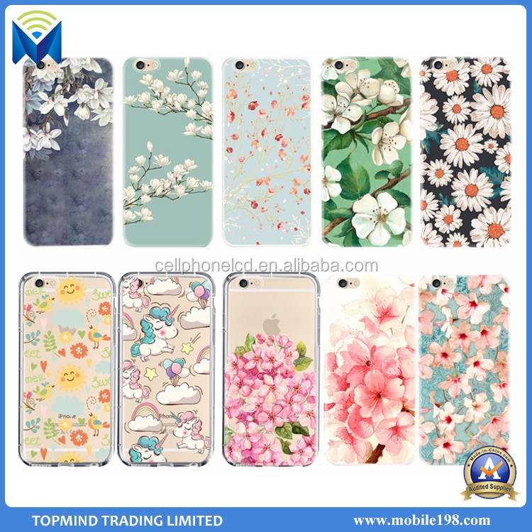 New 3D Relief Sculpture Phone Case Soft TPU Cover Case for iPhone 7/7Plus