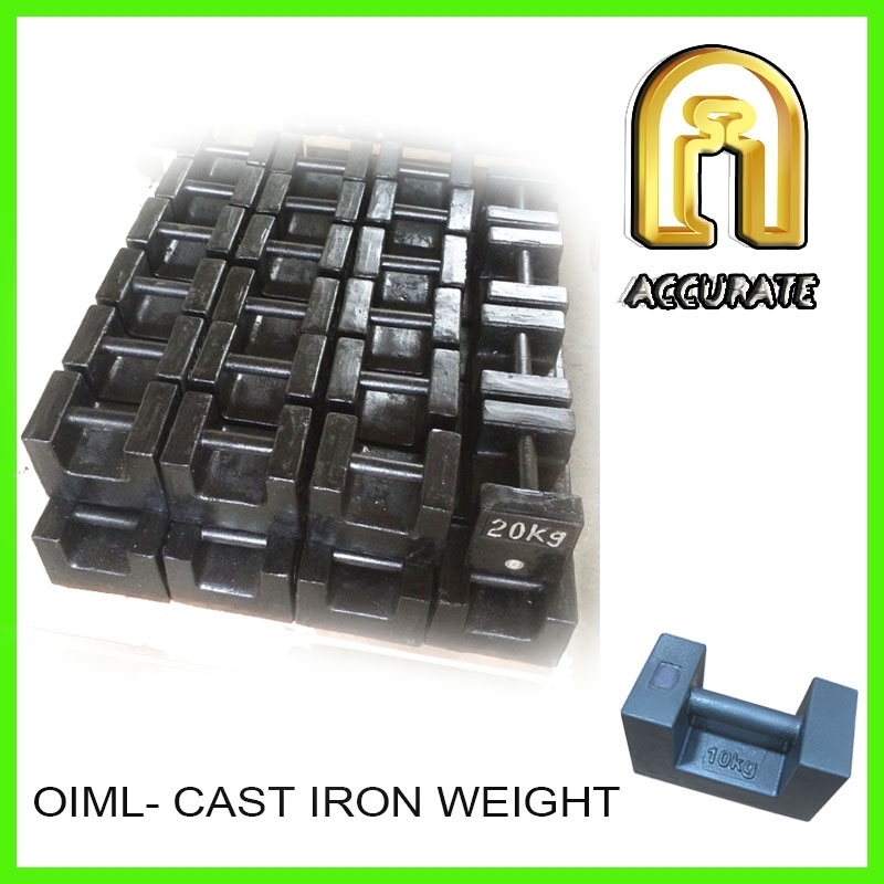 OIML M1 class test weight 1000kg 500kg 20kg cast iron weights, load test weights
