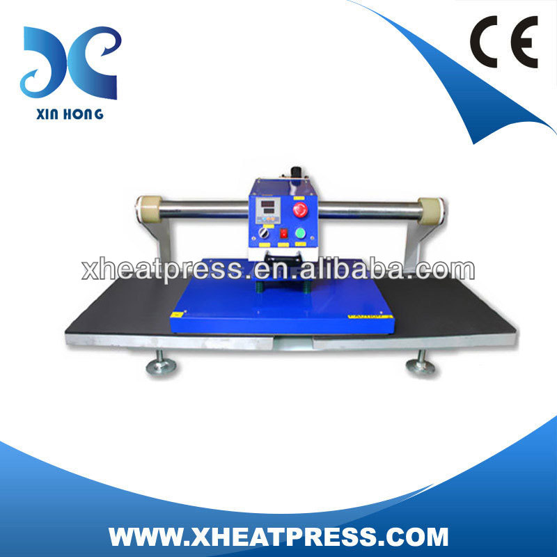 CE Approved Automatic Double Stations Pneumatic Mix Heat Press Tshirt Maker Screen Printing Machine