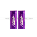 High drain 15A 18500 battery 2016 new version Efest purple 18500 1000mah battery