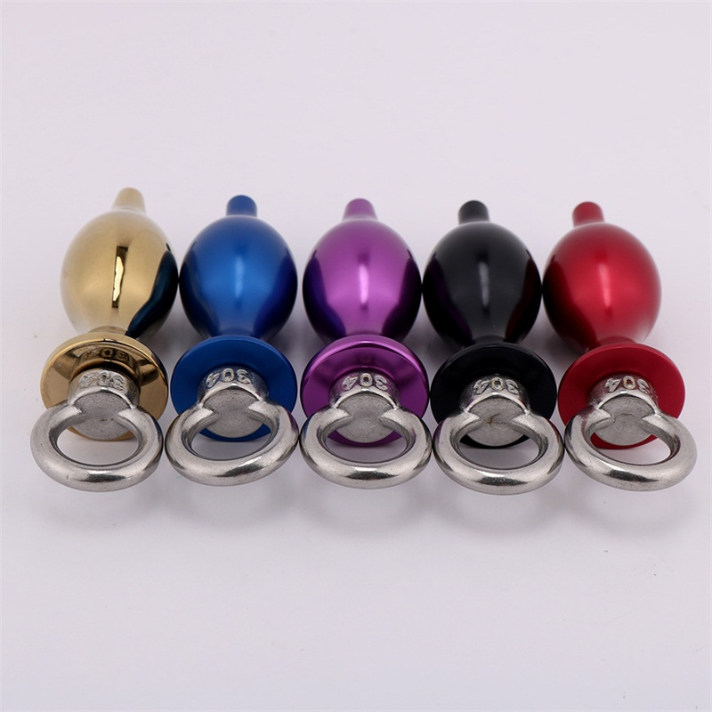 Wholesale New Design Magnetic Easy Work Scrotum Stretchers Stainless Steel Metal Cock Ring Sex Toys Man Delay Ejaculation