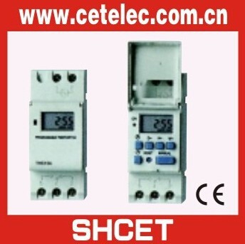 SUL181/AHC15A/CT-GE2 din-rail weekly programmable electronic timer relay (CE certificate)