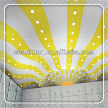 New cheap pvc stretch ceiling profile