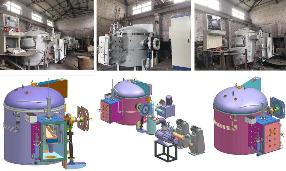 Vacuum heat treatment quenching furnace