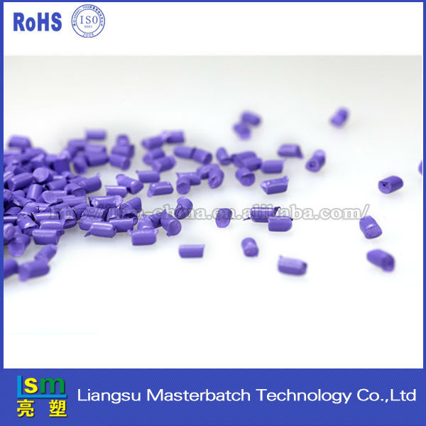 High density purple color masterbatch pc abs resin polycarbonate plastic raw material