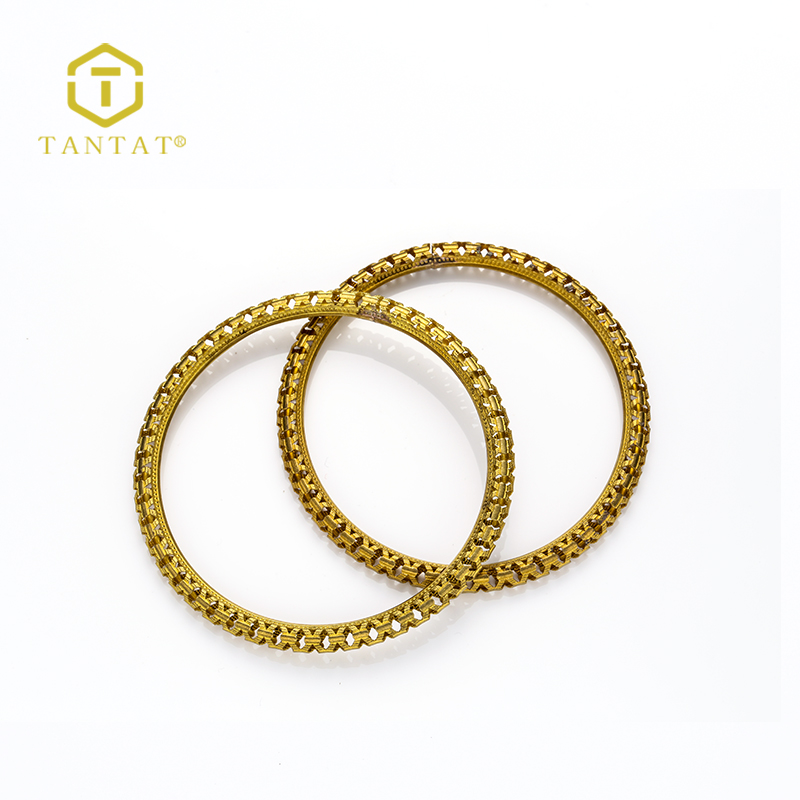 Tantat Jewelry Findings Plated Looking and Cutting Jump Rings