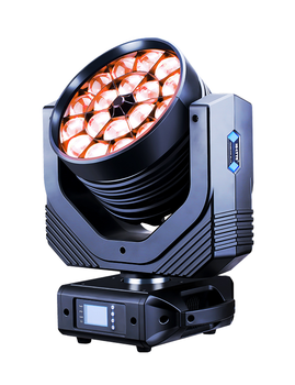 TV Studio Equipment Zoom Definitive Washing DMX512 RGBW 18 LED Par Stage Lighting Guangzhou