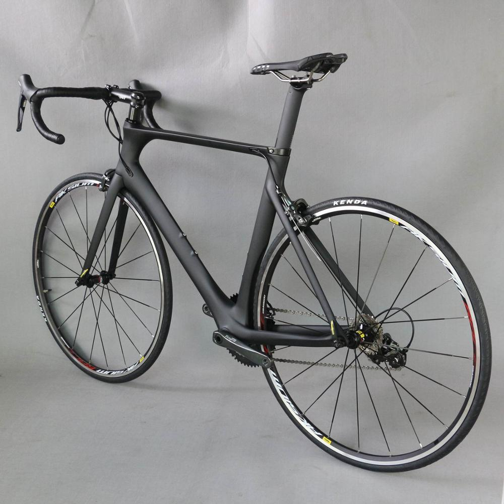 Carbon aero road <strong>cycling</strong> FM268 Aero design frame complete carbon bike 20 speed with 4700 groupset