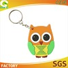 High Quality And Cheap Price OEM 2D Or 3D Promotion Custom Rubber Keychain