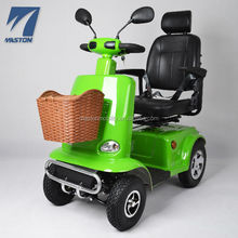 Heavy Duty mid-size 4 wheels travel hill climber mobility scooter for old people and disabled