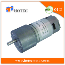 off-center shaft high torque 24V 20 watt geared motor