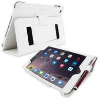Snugg case for iPad mini 3 Case in White Leather