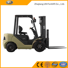 Low Cost High Quality Wide View Mast 3 m 5 Ton Side Loader Counter-Balanced ISUZU Engine Diesel Forklift Truck Brand New