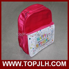 made in China dye sublimated students personalized school bag for sale