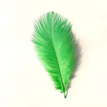 15-20cm Factory Wholesale Price Ostrich Feathers Dyed Feathers for Hat Decoration