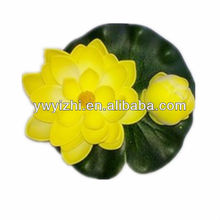 2016 PE material lotus decoration artificial flowers making for home decoration