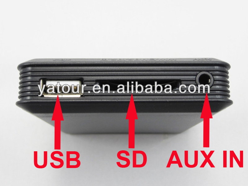 All in one Yatour car radio player>USB/SD/IPOD/IPHONE/AUX IN yt-m07