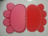 PVC cat mat,dog mat ,pvc pet mat