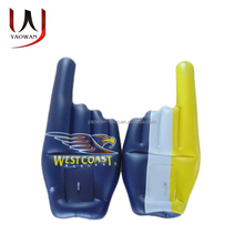 party events fans gift inflatable finger hand
