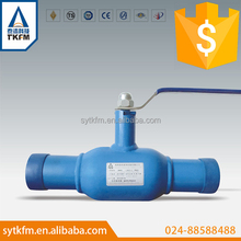 Hot sale high quality long neck 3pc gas and water & oil ball valve with lowest price