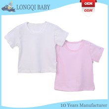 BX-TN-022 blank baby o-neck T-shirt wholesale