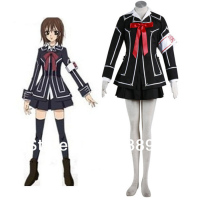 Vampire Knight Cosplay Yuki Cross Academy Day Class Girls School Uniform Japanese Anime hallowen Costumes for Women custom