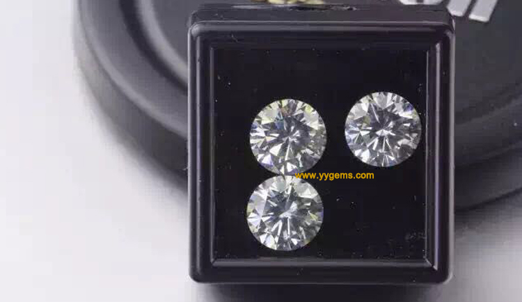 New Year Gift Hot New Product Bulk Wholesale Loose Synthetic Rough Uncut Moissanite Diamond Prices Per Carat
