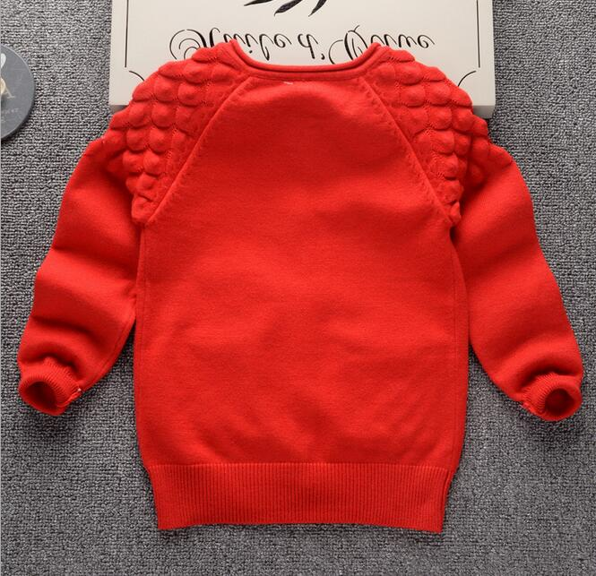 2017 Winter knit long sleeve pullover sweater designs for kids , boy plain pullover sweater