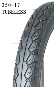 250-17 TUBELESS high quality motorcycle tire