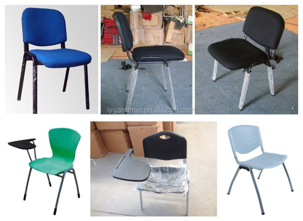School use student chair traing chair with writing board