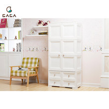 Modern Style New Design Plastic Storage Cabinet With Drawer