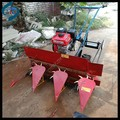 Farm machine gasoline paddy rice reaper