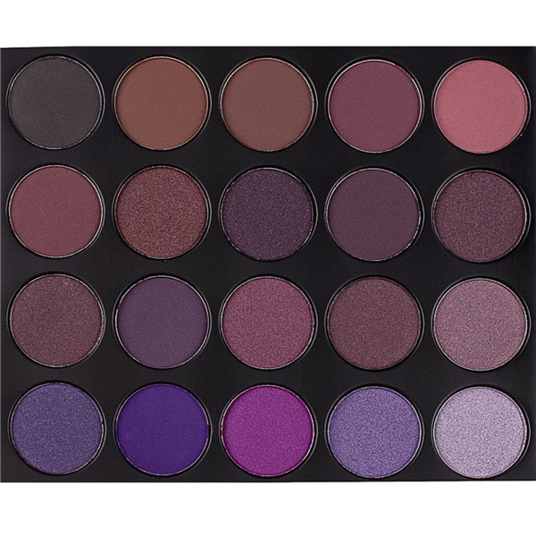 Wholesale custom cosmetics 35P color empty magnetic makeup eyeshadow palette