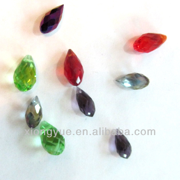 Beauty Tear Drop Crystal Glass beads in bulk