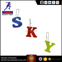 Customized Soft PVC Reflective Keychain For Promotional