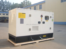 price 180kw soundproof diesel generator set with Ricardo engine