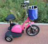 New design three wheeler standing up 3 wheels electric mobility scooter with seat with big front tire