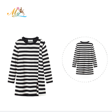Children's Clothing O-Neck Winter Knitted Wool Dresses