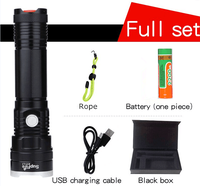 X17-L2 18650 high power rechargeable LED flashlight 1100lm xml t6 torch USB charger tactical flashlight LED light torch