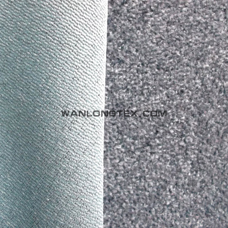 100% Polyester wool like velvet corduroy upholstery fabric for sofa,curtain,cushion and decotation